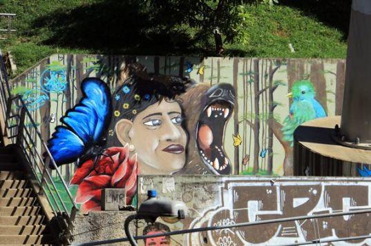 direction le parc Arvi de Medellín en téléphérique- l'autre ailleurs en Colombie, une autre idée du voyage