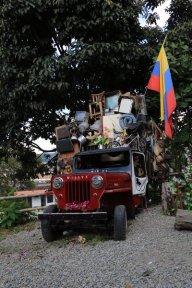 la jeep emblème de Salento - l'autre ailleurs en Colombie, une autre idée du voyage