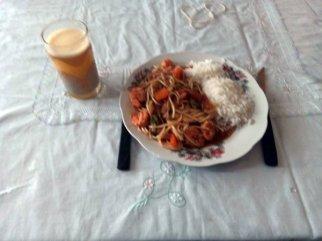 Almuerzo (déjeuner du midi) chez Blanca à Otavalo - l'autre ailleurs, une autre idée du voyage