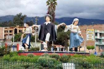 dans les rues d'Otavalo