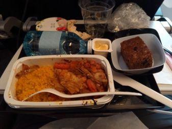 Diner Air France (Paris -> Bangkok)