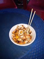calamar grillé - un dernier dîner dans les night market de Vientiane - l'autre ailleurs, une autre idée du voyage