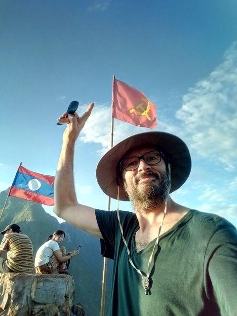 depuis le point de vue de la ville de Nong Khiaw - l'autre ailleurs, une autre idée du voyage