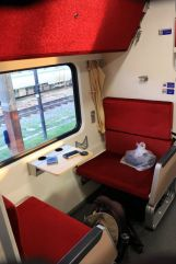 Le train Chiang Mai - Bangkok de nuit avant de passer en mode couchette - l'autre ailleurs, une autre idée du voyage