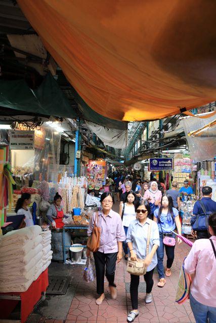 marché Chinois à Bangkok - l'autre ailleurs, une autre idée du voyage