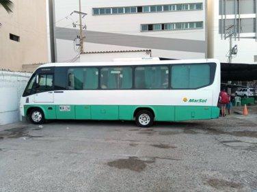 le bus de la compagnie Marsol, de Carthagène des Indes à Santa Marta - l'autre ailleurs en Colombie, une autre idée du voyage