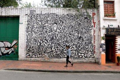 dans le quartier de la Candelaria à Bogotá- l'autre ailleurs en Colombie, une autre idée du voyage