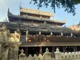 Monastère Shwe Nandaw à Mandalay - l'autre ailleurs au Myanmar (Birmanie) et Thaïlande, une autre idée du voyage