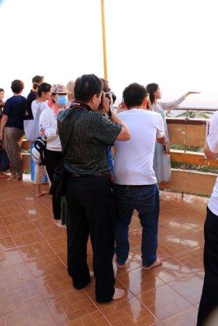 Concours de photo de coucher de soleil au sommet de Mandalay Hill - l'autre ailleurs au Myanmar (Birmanie) et Thaïlande, une autre idée du voyage