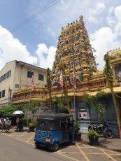 temple hindou à Colombo - l'autre ailleurs au Sri-Lanka, une autre idée du voyage