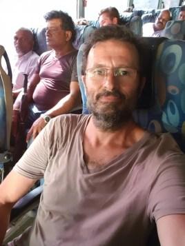 dans le bus vers l'aéroport de Colombo - l'autre ailleurs au Sri-Lanka, une autre idée du voyage