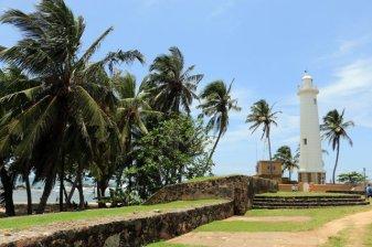 le phare dans la partie vieille ville de Galle - l'autre ailleurs au Sri-Lanka, une autre idée du voyage