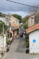 dans la partie de la vieille ville de Galle - l'autre ailleurs au Sri-Lanka, une autre idée du voyage