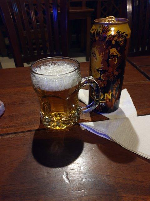 une bière à Nuwara Elyia - l'autre ailleurs au Sri-Lanka, une autre idée du voyage