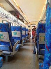 dans le train en première classe depuis Nuna Oya vers Ella - l'autre ailleurs au Sri-Lanka, une autre idée du voyage