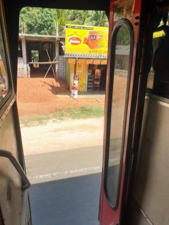 le bus depuis Dambulla - l'autre ailleurs au Sri-Lanka, une autre idée du voyage