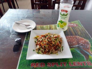 kottu de légumes, déjeuner à Polonnâruvâ - l'autre ailleurs au Sri-Lanka, une autre idée du voyage