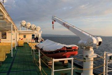 sur le bateau depuis Split vers l'île de Brač - l'autre ailleurs en Croatie, une autre idée du voyage