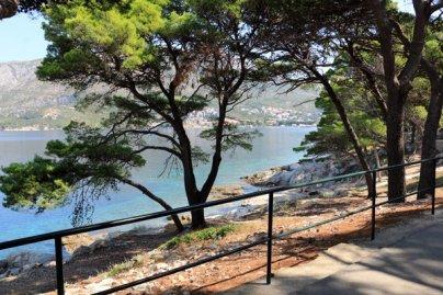 promenade sur la presqu'île à Cavtat - l'autre ailleurs en Croatie, une autre idée du voyage