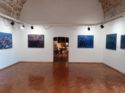 Superbe exposition des peintures de Đuro Pulitika à Dubrovnik - l'autre ailleurs en Croatie, une autre idée du voyage