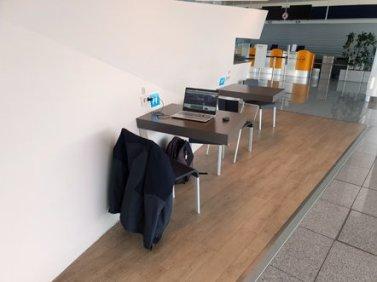 en transit dans l'aérogare de Munich - l'autre ailleurs en Croatie, une autre idée du voyage