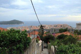 un peu de hauteur pour voir Dubrovnik - l'autre ailleurs en Croatie, une autre idée du voyage