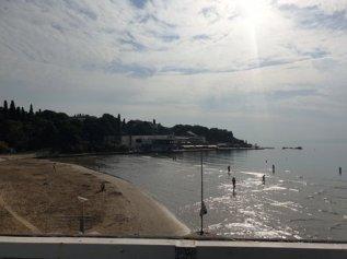 la plage de Bačvice à Split - l'autre ailleurs en Croatie, une autre idée du voyage