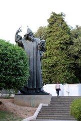 statue de Grgur Ninski (Grégoire de Nin) à Split - l'autre ailleurs en Croatie, une autre idée du voyage