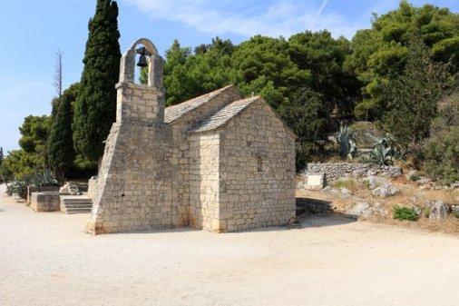 en haut de la colline Marjan à Split - l'autre ailleurs en Croatie, une autre idée du voyage