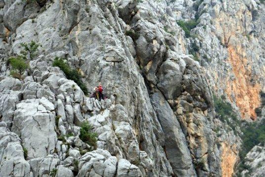 le paradis de l'escalade dans le parc national de Paklenica - l'autre ailleurs en Croatie, une autre idée du voyage