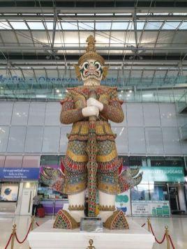 aéroport de Bangkok Suvarnabhumi - l'autre ailleurs au Myanmar (Birmanie) et Thaïlande, une autre idée du voyage