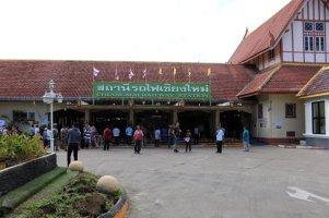 la gare ferroviaire de Chiang Mai - l'autre ailleurs au Myanmar (Birmanie) et Thaïlande, une autre idée du voyage