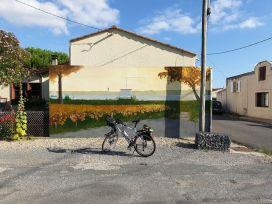 la maison d'un peintre à Pauillac (33) - l'autre ailleurs en Vélo, une autre idée du voyage (www.autre-ailleurs.fr)