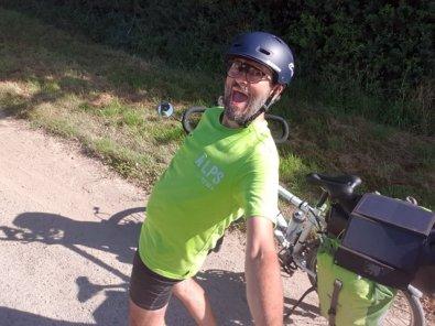 le vélo ça rend zin-zin, ici à Esnandes (17) - l'autre ailleurs en Vélo, une autre idée du voyage (www.autre-ailleurs.fr)