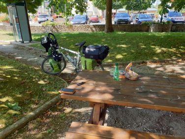 pause miam à St Michel en l'Herm (85) - l'autre ailleurs en Vélo, une autre idée du voyage (www.autre-ailleurs.fr)