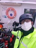 en bateau bus pour Port-Louis (56) - l'autre ailleurs en Vélo, une autre idée du voyage (www.autre-ailleurs.fr)