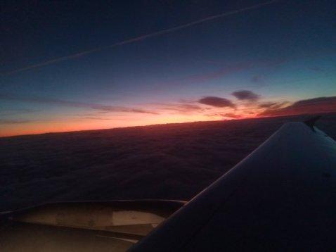 Dans les airs entre Toulouse et Francfort