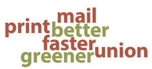 Autumn Press Mail Print Better Faster Greener Union