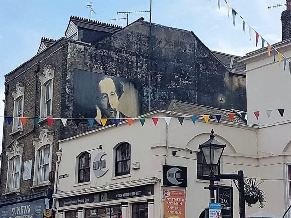 Charles Dickens graffiti