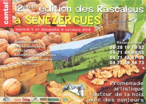 Fête de la noix à Sénezergue 2013