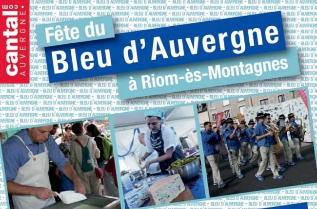 Fête du Bleu d'Auvergne 2015 Riom-ès-Montagne