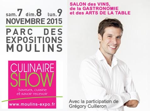 Culinaire Show à Moulins 2015