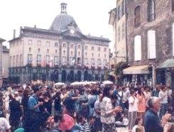 Foule du festival d'Aurillac