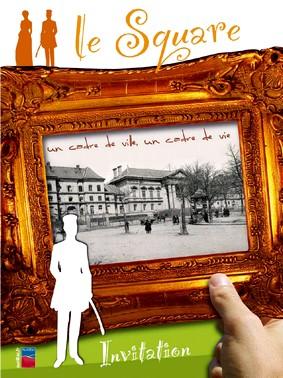 Affiche du Square d'Aurillac, Cantal, photo blog iLACA