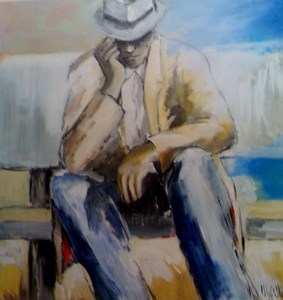 Michel Delbos, Artiste peintre du cantal