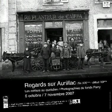 Photographies anciennes, exposition regards à Aurillac