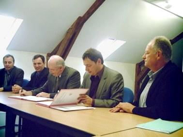 Convetion Mairie Aurillac, EDF, Alain Calmette