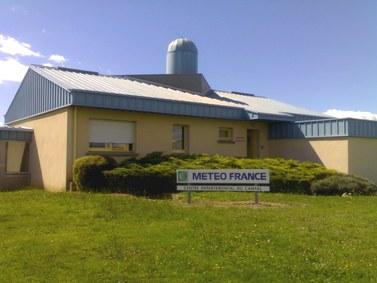 Station Météo France d'Aurillac, Cantal, aéroport de tronquière