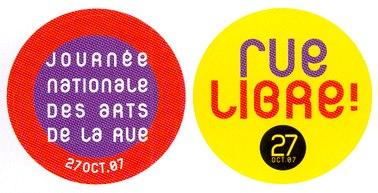 Rue libre à Aurillac, spectacle au parapluie