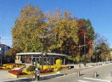 Place du Square, Aurillac, Cantal